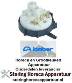 341541842  - Pressostaat drukbereik 100/40mbar aansluiting 6mm ø 58mm voor vaatwasser LAMBER