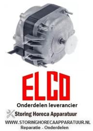 205.6017.62- Ventilatormotor  10W 230V 50Hz lager kogellager ELCO