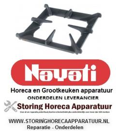 512210214 - Fornuis branderrooster B 287 mm L 350 mm Nayati