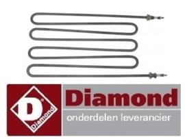E65/CP4T(230V/3) - DIAMOND ALPHA 650 PASTAKOKER REPARATIE ONDERDELEN