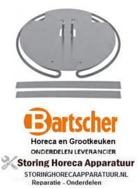 260419203 - Verwarmingselementenset 3000W 230V VOOR BARTSCHER CREPE