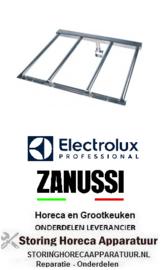 760105653 - kantel braadpanstaafbrander  L 700mm B 585mm H 30mm  Electrolux, Zanussi