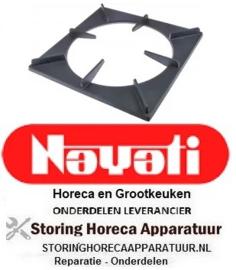 102210196 - Fornuis brander rooster B 500 mm L 500 mm NAYATI