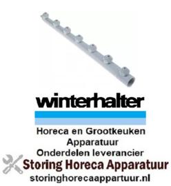 168502095 - Wasarm L 594mm 7 sproeiers voor vaatwasser Winterhalter