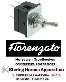 103347462 - Hevelschakelaar draad M12x0,75 2CO 250V 15A ON-ON Fiorenzato-M.C