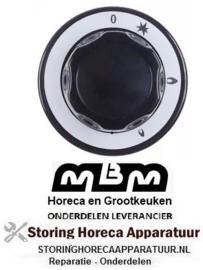 321112696 - Knop gaskraan met ontstekingsvlam voor MBM