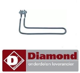 4452.301.18 - Verwarmings tank element  2.1kW DIAMOND DK7/2-NP
