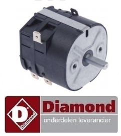 173A.020.02 - Tijdschakelaar Toaster  DIAMOND MD22/R-N