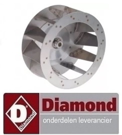 225RTFOC00473 - Ventilatorblad oven DIAMOND PFE 5D