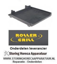 3656.933.66 - Gietijzerplaat inbouwpositie onder glad ROLLER - GRILL