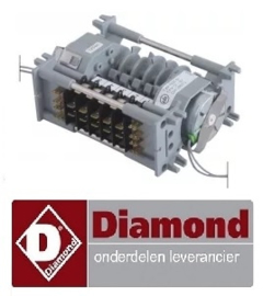 247238073 - Diamond DC 202 timer CDC 7805DV motoren 2 kamers 5 looptijd 72s/20min 230V