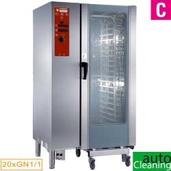 SDE/20-CL - Elektrische oven directe stoom en convectie, 20xGN1/1+Cleaning DIAMOND