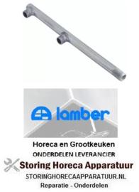 014506068 - Naspoelarm L 200mm sproeiers 2 inbouwpositie boven LAMBER