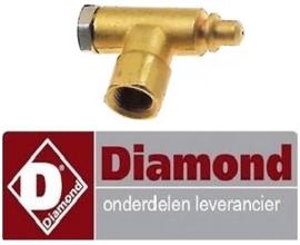 487100880 - Waakvlambranderonderstuk voor gasfriteuse DIAMOND
