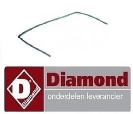 599.652.013.00 - DEUR RUBBER VOOR MOD. GAZ DIAMOND G65/T2BFA11