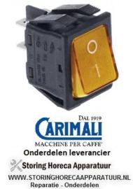 00240301002 - Wipschakelaar oranje CARIMALI