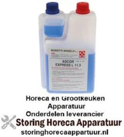 223802089 - Melkafschuimer reiniger fles ASCOR Express L11.3 toegelaten NSF 1000ml