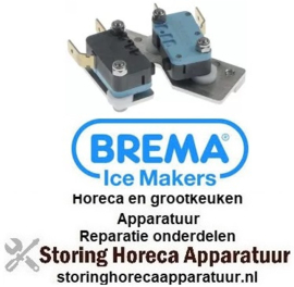 356348181 - Schakelaarset bevestigingsafstand 48mm 250V 16A 2x1NO - BREMA