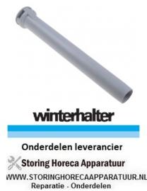 491502207 - Overlooppijp L 290mm -  ø 37mm vaatwasser WINTERHALTER
