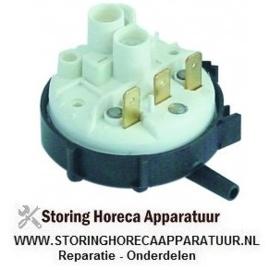 043541166 - Pressostaat drukbereik 140/110mbar aansluiting 6mm ø 58mm drukaansluiting horizontaal spoeltechniek
