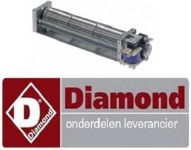 31012059052 - Dwarsstroomventilator voor  koel en vrieskast DIAMOND