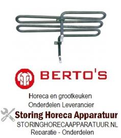 322415077 - Verwarmingselement sudderpan 1300W 230V voor Bertos braadpan