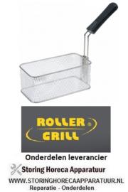 178693029 - Frituurmand  L1 260mm - B1 145mm - H1 100mm inklapbare greep Roller-Grill