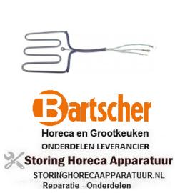 503416843 - Verwarmingselement 650W 230V contactgrill BARTSCHER