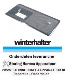661502066 - Vlakfilter L 550mm -  B 240mm vaatwasser Winterhalter GS302 - GS310 - GS315