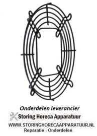 287601580 - Rooster voor ventilatorblad ø 172 mm H 11 mm bevestigingsafstand 1 208 mm