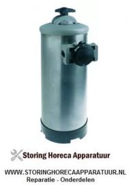 546530168 - Ontharder manueel met bypass ventiel containercapaciteit 12l harshoeveelheid 8,4l
