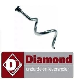 566A96ZS00012 - Kneed spiraal DIAMOND NT10/G-(230/1)