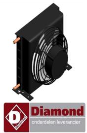 31440215001 - Condensorventilator voor Pizza koelwerkbanK DIAMOND TP23