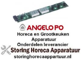 124402675 - Printplaat vaatwasser KD60 L 185mm B 30mm knoppen 4 - ANGELO-PO
