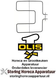 471418696 - Verwarmingselement 1300 Watt - 230 Volt voor oven OLIS