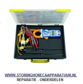 ST1800200 - Amperetang met temperatuurmeetfunctie PEAK TECH 1650 draad, oppervlakte, insteekvoeler