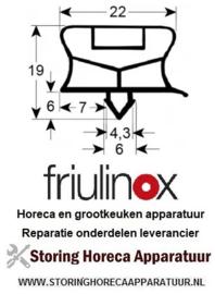 DEURRUBBERS HORECA KOELKAST, VRIESKAST - FRANKE - FRULINOX - OLIS