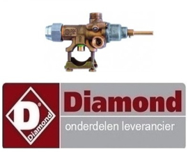 "231167997 - GASKRAAN VOOR GAMMA ""BASE 700"" DIAMOND C6GA11-SP"