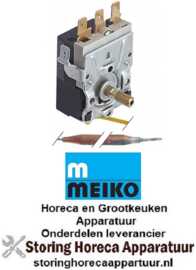 723390127 - Thermostaat t.max. 95°C instelbereik 0-95°C 1-polig 1CO 16A voeler ø 6mm voeler L 145mm MEIKO