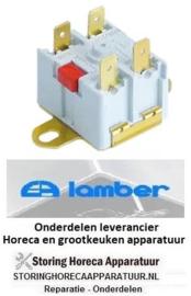 6800300301 - Maximaalclixon LA 40mm uitschakeltemp. 105°C 16A voor vaatwasser LAMBER