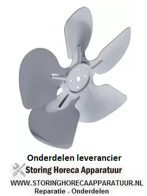 193601844 Ventilatorblad drukkend ø 200 mm | VENTILATOR