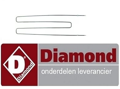 97891711353 - Verwarmingselement 2690W 230V - DIAMOND PIZZA OVEN