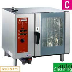 EL.OVEN DIRECTE STOOM/CONV.6xGN1/1+CLEANING