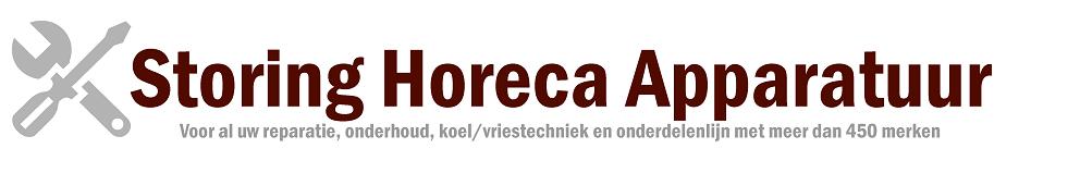 STORING HORECA APPARATUUR