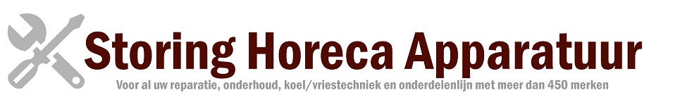 STORING HORECA APPARATUUR