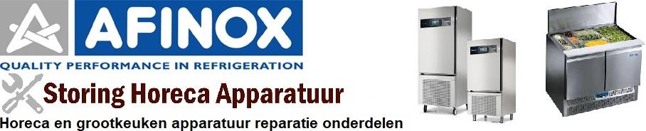 Afinox koelingen horeca en grootkeuken apparatuur reparatie onderdelen