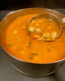 Kleine soep van de Chef