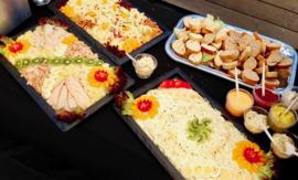 """Salade buffet """"Straathof"""" de Luxe à € 12.95 p.p."""