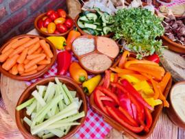 Luxe Vegetarische tapas e/o groenteplank
