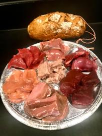 Gourmet of Fondue schotel Wild